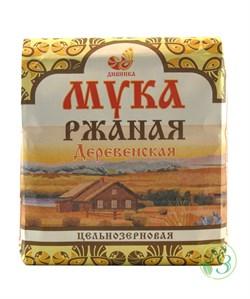 """Мука ржаная деревенская """"Дивинка"""" 1кг - фото 7895"""