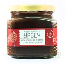Урбеч шоколадно-ореховый (какао бобы 40%, фундук 60%) 450г - фото 8236