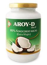 Кокосовое масло (extra virgin) AROY-D 450мл - фото 9254