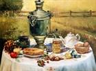 Чаепитие, встреча с пекарями, раздача закваски