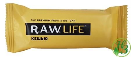 Фруктовый батончик R.A.W. Life Кешью, 47г - фото 11002