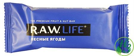 Фруктовый батончик R.A.W. Life Лесные ягоды 47г - фото 11005