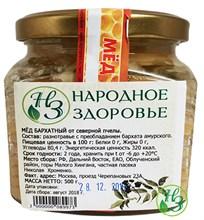 Мёд Дальневосточное разнотравье с бархатом 500г. - фото 11167