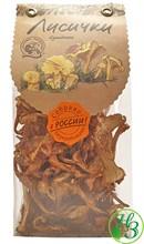 Грибы лисички сушёные 45г - фото 11592