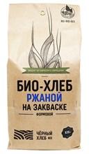 Набор для выпечки: БИО-хлеб ржаной на закваске формовой, 525г - фото 11618