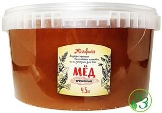 "Мёд ""Гречишный"" Алтай (Медарика) 1,5кг пластик - фото 12036"