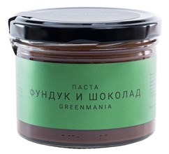 "Паста ""Фундук и шоколад"" GreenMania, 200г - фото 12775"
