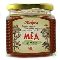"""Мёд """"Дягилевый"""" 500г, стекло - фото 7533"""