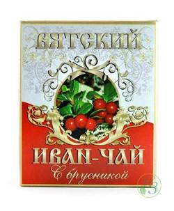 Вятский Иван-Чай с Брусникой 100г - фото 7911