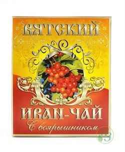 Вятский иван-чай Боярышник 100г - фото 7917