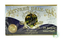 Вятский Иван-чай с чёрной смородиной в пакетиках 50г. - фото 7924