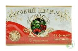 Вятский Иван-чай с брусникой в пакетиках 50г. - фото 7937