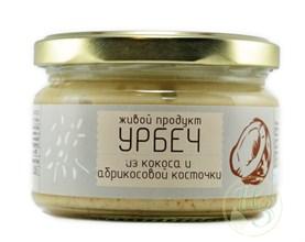 Урбеч из КОКОСА с абрикосовой косточкой 225г - фото 8539