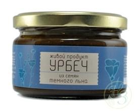 "Урбеч из семян тёмного льна ""Живой продукт"" 225г - фото 8540"