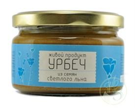 """Урбеч из семян светлого льна """"Живой продукт"""" 225г - фото 8554"""