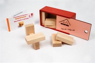 Кирпичики (цветная коробка) - фото 8961