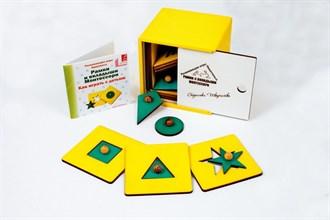 Рамки и вкладыши Монтессори (цветная коробка) - фото 9007