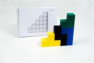 """Альбом с заданиями к игре """"Кубики для всех"""" Серии 4,5 - фото 9011"""