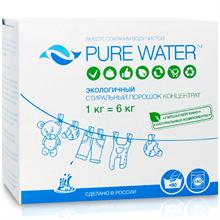 """Стиральный порошок """"Pure Water"""" 1кг - фото 9049"""