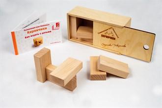 Кирпичики (лакированная коробка) - фото 9077