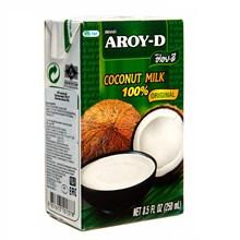 Кокосовое молоко AROY-D 17-19% 250мл - фото 9248