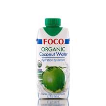"""Органическая кокосовая вода """"Foco"""" 330мл - фото 9790"""