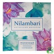 Шоколад Nilambari на овсяном молоке с клубникой 65г