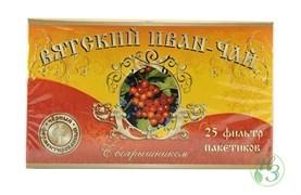 Вятский Иван-чай с боярышником в пакетиках 50г 5 пачек