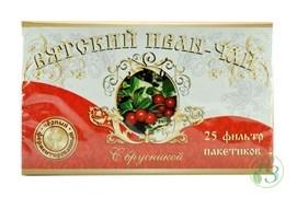 Вятский Иван-чай с брусникой в пакетиках 50г 5 пачек