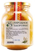 Мёд таёжное разнотравье с преобладанием гречихи, Алтай 1кг