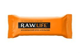 Фруктовый батончик R.A.W. Life Бразильский орех-апельсин 47г
