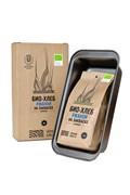 ПОДАРОЧНЫЙ НАБОР Смесь для выпечки Био-хлеб ржаной формовой на закваске, 0.525 кг