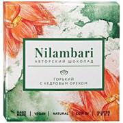Шоколад Nilambari горький с кедровым орехом 65г