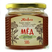 """Мёд """"Дягилевый"""" 500г, стекло"""