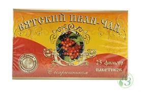 Вятский Иван-чай с боярышником в пакетиках 50г.