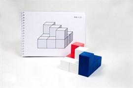 """Альбом с заданиями к игре """"Кубики для всех"""" Серии 1,2,3"""